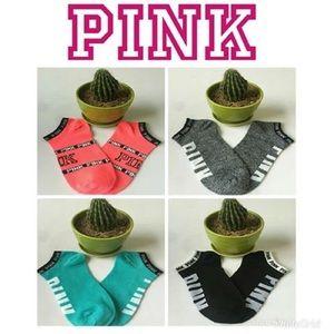Pink logo socks bundle